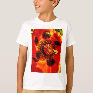 open poppy two T-Shirt