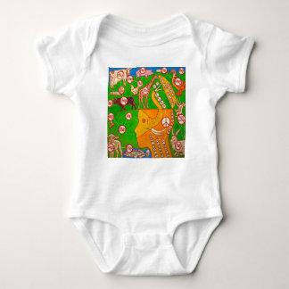 Open Vegan mind Baby Bodysuit