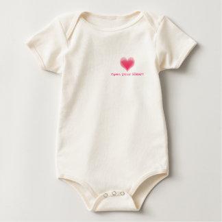 Open Your Heart Baby Bodysuit