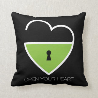 Open Your Heart. Cushions