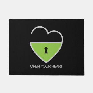 Open Your Heart. Doormat