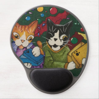 Opened Presents Gel Mouse Pad