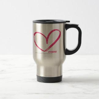 OpenHeart Magenta Travel Mug