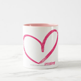 OpenHeart Magenta Two-Tone Coffee Mug
