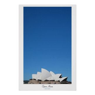 Opera house posters
