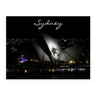 opera house vivid man post cards