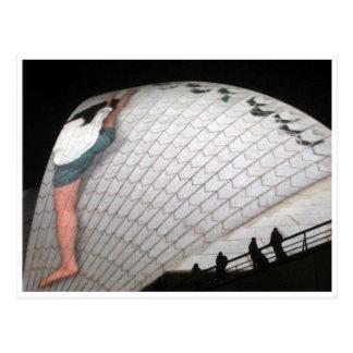 opera house vivid stretch postcards