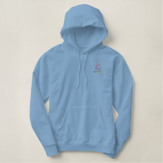 Opera Singer Embroidered Hoodie