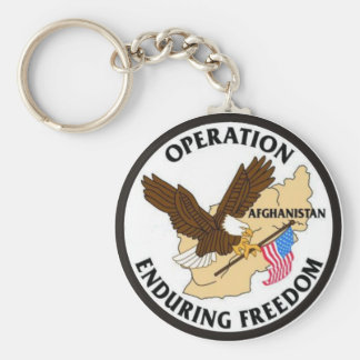 Operation Enduring Freedom 2 Keychain