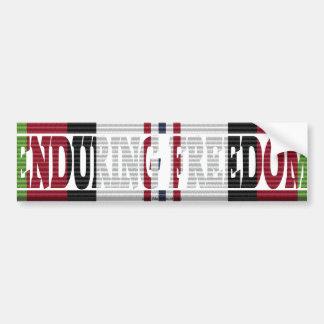 Operation Enduring Freedom ACM Ribbon Sticker Bumper Sticker