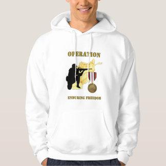 Operation Enduring Freedom Afghanistan War Hoodie