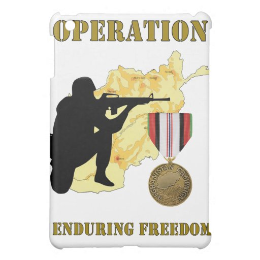 Operation Enduring Freedom Afghanistan War IPad Ca Case For The iPad Mini