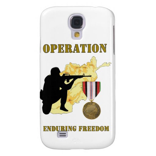 Operation Enduring Freedom Afghanistan War IPhone Samsung Galaxy S4 Covers