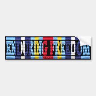 Operation Enduring Freedom GWOTEM Bumper Sticker