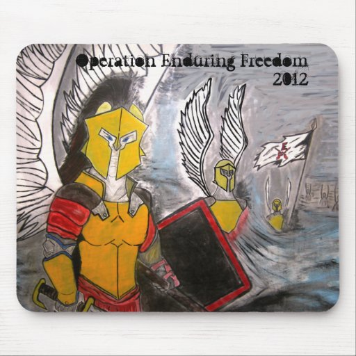 Operation Enduring Freedom Legion Mousepad