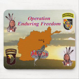 Operation Enduring Freedom Mouse Pad