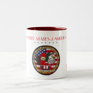 Operation Enduring Freedom Patch Coffee Mugs