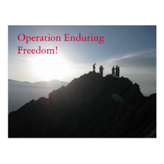Operation Enduring Freedom Postcards