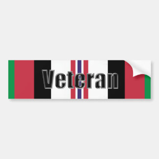 Operation Enduring Freedom Veteran Car Bumper Sticker