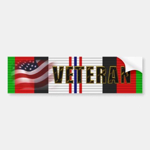 Operation Enduring Freedom Veteran Bumper Stickers