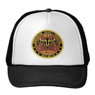 Operation Iraqi Freedom - Enduring Freedom Patches Hats