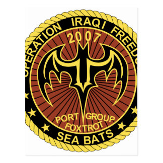 Operation Iraqi Freedom - Enduring Freedom Patches Post Cards