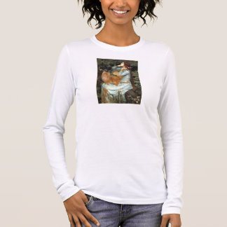 Ophelia - Red Persian cat Long Sleeve T-Shirt