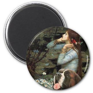 Ophelia - Saint Bernard Magnet