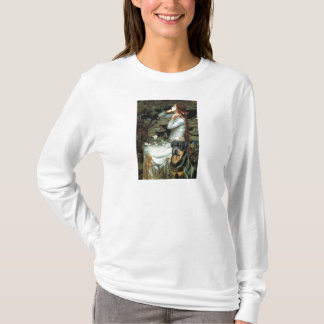 Ophelia Seated - Rottweiler #3 T-Shirt
