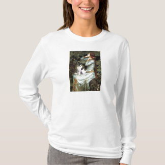 Ophelia Seated - Smooth Fox Terrier T-Shirt