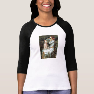 Ophelia Seated - Wire Fox Terrier 3 T-Shirt