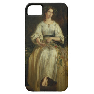 Ophelia weaving her garlands, 1842 (oil on panel) iPhone 5 cases