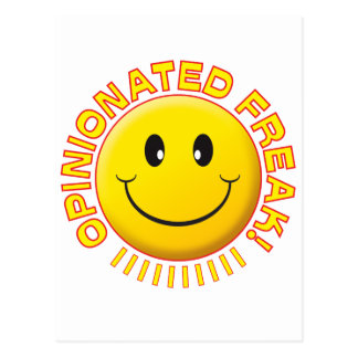 Opinionated Freak Smile Postcards
