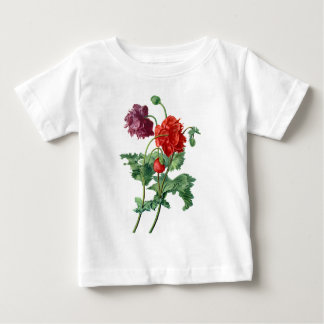 Opium Poppy Drawn From Nature by Van Spaendonck Baby T-Shirt