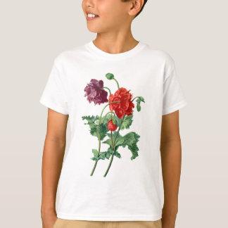 Opium Poppy Drawn From Nature by Van Spaendonck T-Shirt