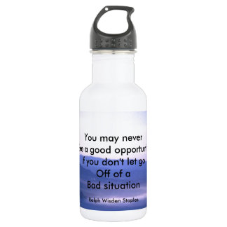 Opportunities and bad situation 532 ml water bottle