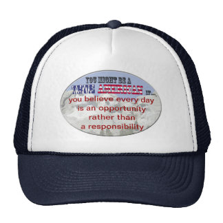 opportunity mesh hat