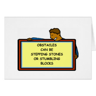 opportunity greeting card