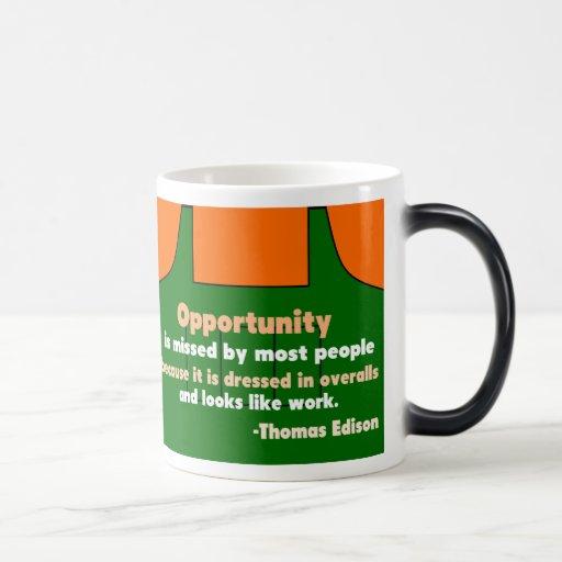 Opportunity Coffee Mugs