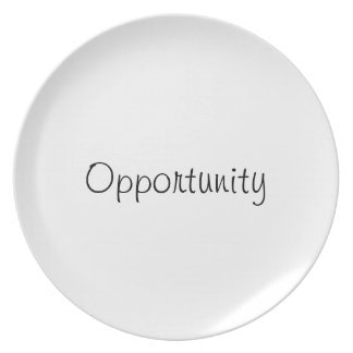 Opportunity plate