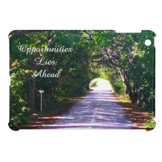 Opportunity single one road in nature iPad mini case