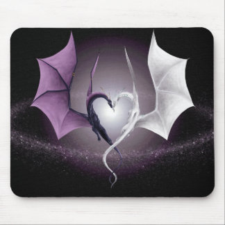 Opposites Attract Mouse Mats
