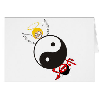 Opposites Attract- Romance Greeting Card