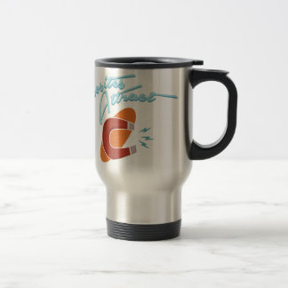 Opposites Attract Stainless Steel Travel Mug