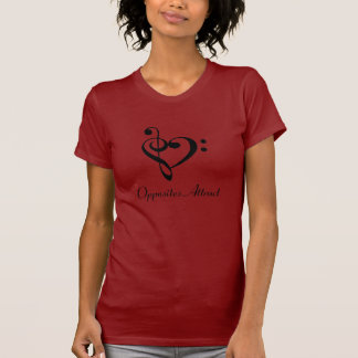 Opposites Attract T Shirts