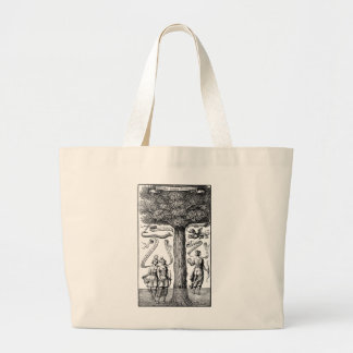 Opposites United by Conjunction in Alchemy Jumbo Tote Bag