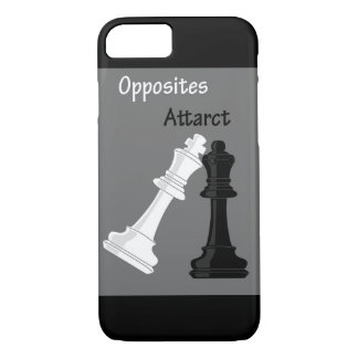 opposits attract iPhone 7 case