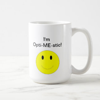 Opti-ME-stic Basic White Mug