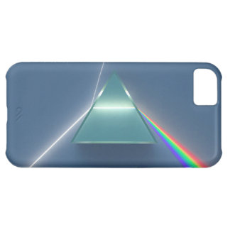 Optic Prism Refracting and Reflecting Light iPhone 5C Case