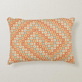 Optical Polka Dots Decorative Cushion